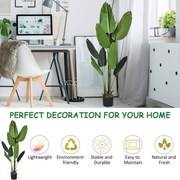 Artificial Banana Potted Plant